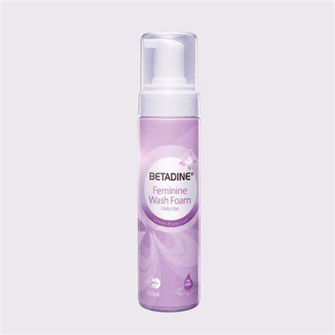 Jual Betadine Feminine Hygiene betadine feminine wash foam singapore free delivery 50 above pinkpharm