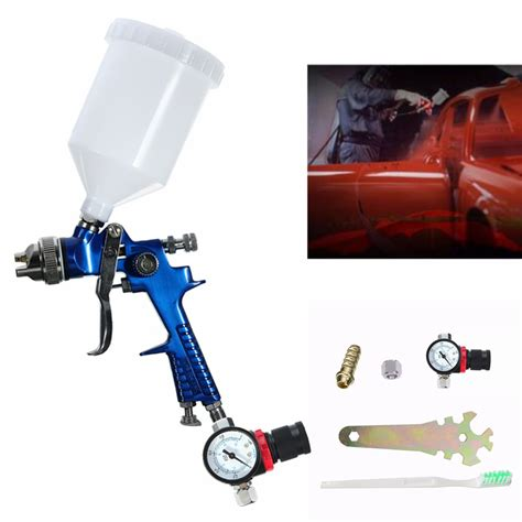 spray painting tools and equipment 600cc 1 4mm hvlp air spray gun tool automotive shop