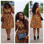 African Print Dresses Styles