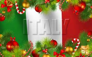 In italy the christmas season goes for three weeks starting 8 days