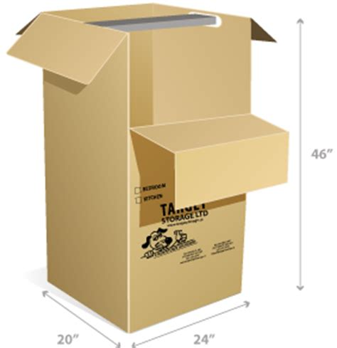 Wardrobe Box Dimensions by Best Selection Of Moving Supplies In Target