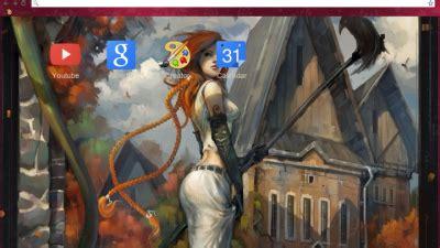 theme google chrome gintama kamui gintama chrome theme themebeta