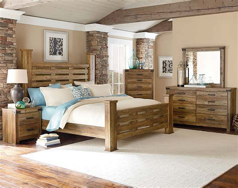 wood bedroom sets casual rugged brown pine wood bedroom furniture montana