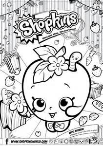 Shopkins list season 1 colouring pages