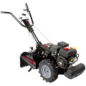Craftsman 208cc dual rotating rear tine tiller w electric start non