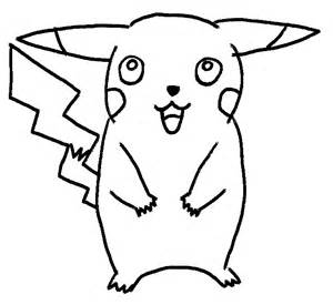 How to draw pikachu in ten steps this free onlinecartoon drawing