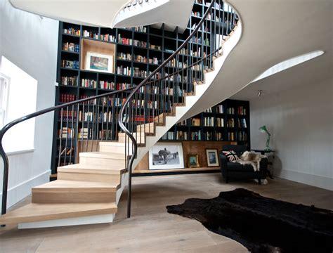 amazing bookshelves 20 ways to turn stairs into an amazing bookshelf library