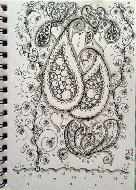 paisley doodle ideas 73 best doodles paisley images on