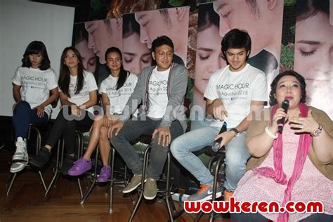 launching film magic hour foto press conference film magic hour foto 27 dari 38