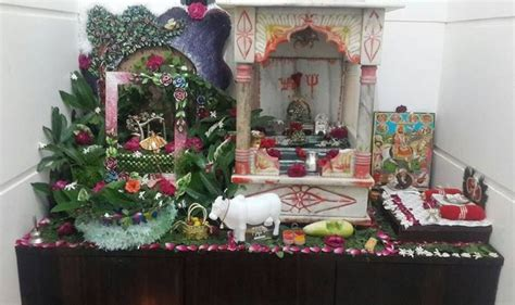 Home Decoration For Janmashtami by 17 Best Images About Janmashtami Decoration Ideas On