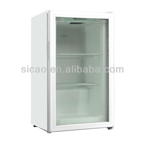 small cabinet freezer countertop small beverage freezer glass freezer