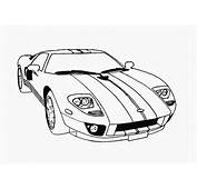 Cars Coloring Pages For Kids Printable Race Car 7 LRG