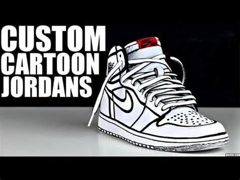 Comic 8 Custom custom jordans tutorial