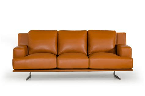 Foster Leather Sofa by Estro Salotti Foster Modern Brown Leather Sofa Set