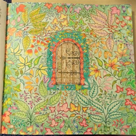 secret garden colouring book coloured in a page from secret garden colored by reddit user u nheea