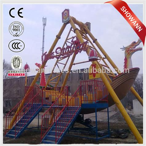 boat swing ride amusement park ride pirate boat swing pirate ship scrap