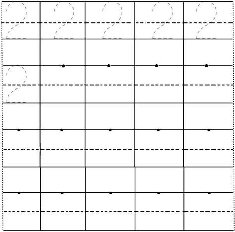 printable number line preschool number 2 worksheets printable