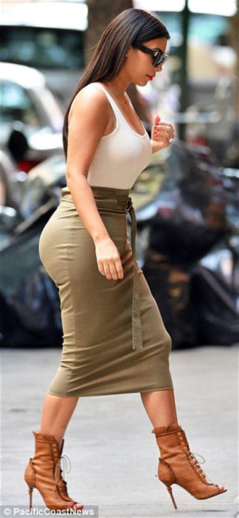 Midi Heels Boot Megan Berkualitas black bandeau high waist fitted midi
