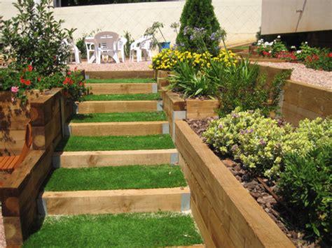dise 241 o de terraza de listones de madera en forma de cubo terrazas de jardin dise 241 28 images jardines 187