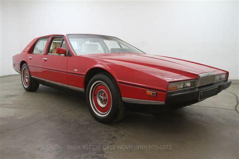 1983 Aston Martin Lagonda 1983 Aston Martin Lagonda Beverly Car Club
