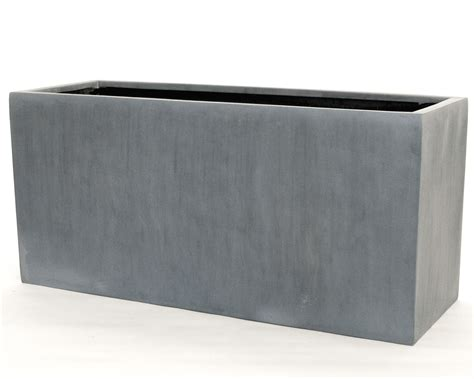 pflanzkübel fiberglas grau pflanztrog pflanzk 252 bel fiberglas als raumteiler