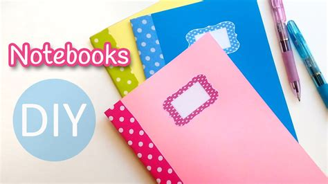 diy crafts with diy crafts notebooks back to school innova crafts