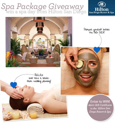 Spa Sweepstakes - giveaway win a spa package exquisite weddings