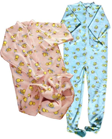 Locking Footed Sleeper baby footed jammies locking zipper for easy changes ageplay