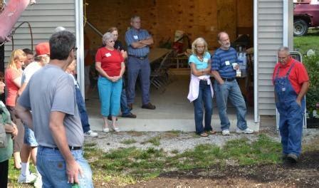 backyard growers shindig at mike s plant farm