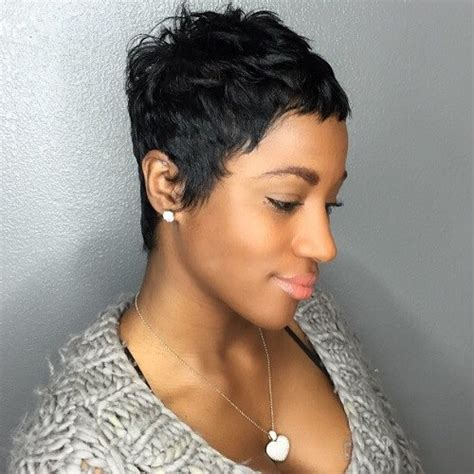 shortcuts for black women with thin hair 50 most captivating african american short hairstyles and