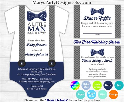 printable onesies invitations little man baby shower onesie invitation boy baby navy