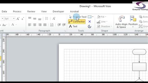 add shapes to visio adding text to flowchart shapes visio