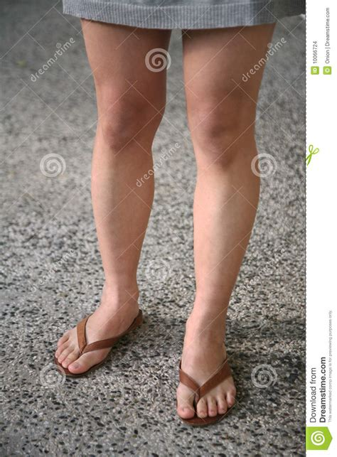 wearing sandals wearing sandals stock photo image of