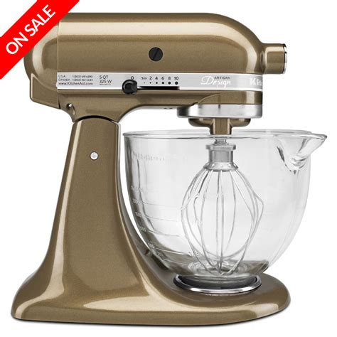Kitchenaid Mixer Large Kitchenaid Platinum Ksm156 Toffee Stand Mixer S
