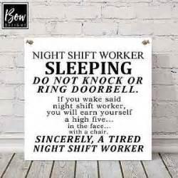 e150 large do not disturb night shift worker sleeping