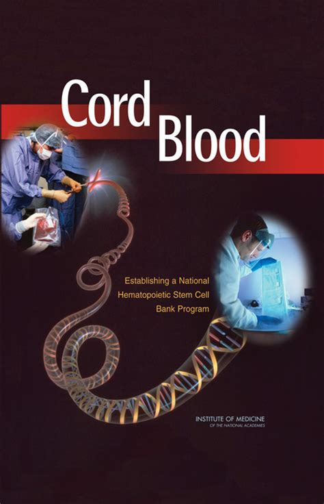 blood a novel of the lupi books cord blood establishing a national hematopoietic stem