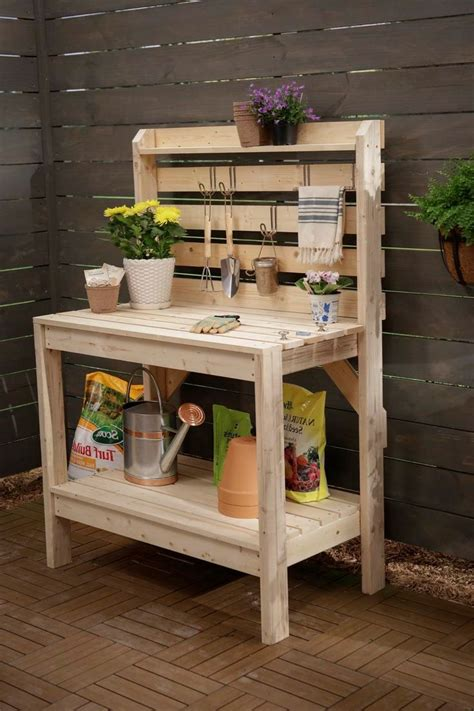 potting bench with sink 25 trending pallet potting bench ideas on