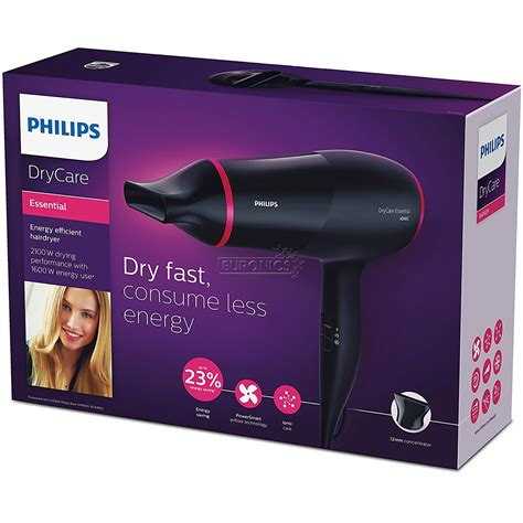 Philips Hair Dryer Essential Care hair dryer drycare essential philips bhd029 00