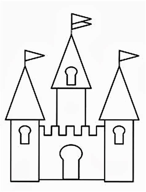 castle wall coloring page walt disney castle clipart 60