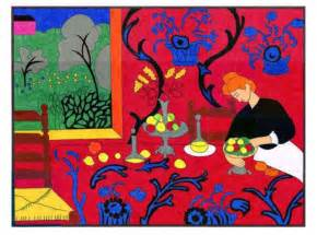 matisse red room art projects for kids