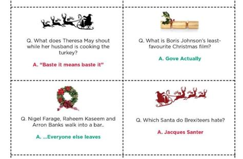 16 brexit christmas cracker jokes that will make or break