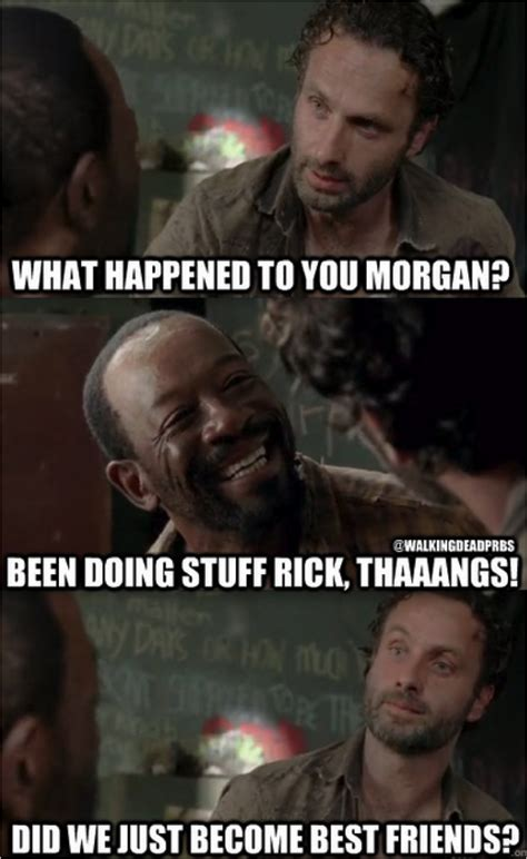 Walking Dead Stuff And Things Meme - 42 more hilarious walking dead memes from season 3 from