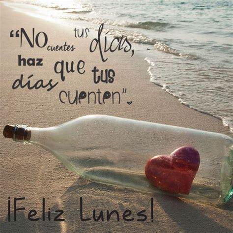 imagenes con frases de amor en la playa feliz lunes botella en la playa buenos dias pinterest