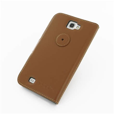 Samsung Galaxy 2 Casing Book Flip Cover Kasing samsung galaxy note 2 leather flip cover brown pdair book