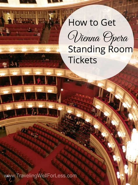 Standing Room Tickets how to get vienna opera standing room tickets