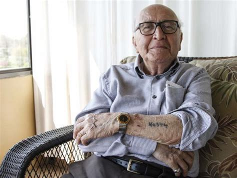 holocaust survivor recalls lucky lie that saved his life