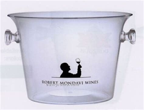 Promo Murah Handle Mote Acrylic multi bottle acrylic wine with 2 knob handles