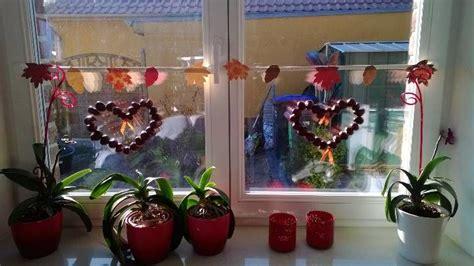 dekoration herbst fensterdeko herbst dekoration aller