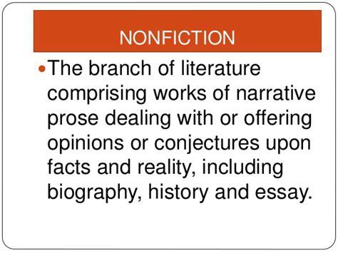 Literary Genre Essay by Essay Literary Genres