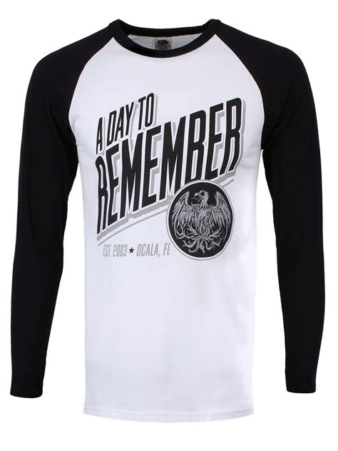 a day to remember s baseball t shirt buy